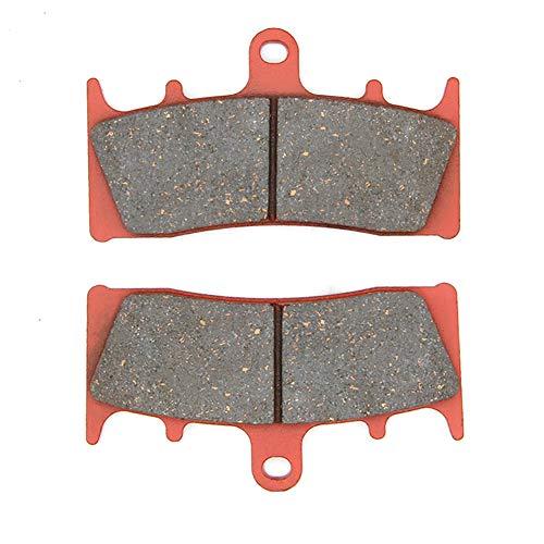 MEXITAL 1 pair Motorbike Front Ceramic Organic Brake Pads for Kawasaki ZRX 1200 S B1B2B3 2001-2004