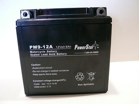 PowerStar Motorcycle Battery for KAWASAKI 250 EX250 Ninja 86-94