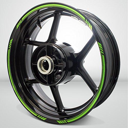 Gloss Light Green Line Outer Rim Liner Stripe for Kawasaki 1400 GTR