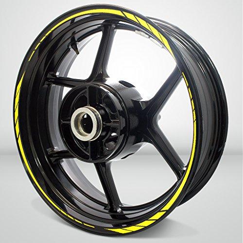 Gloss Yellow Evo Outer Rim Liner Stripe for Kawasaki 1400 GTR
