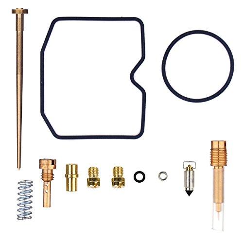 NIMTEK Carburetor Rebuild Kit for Kawasaki KVF300 99-02 Prairie 300 Carb Repair Kit KVF 300