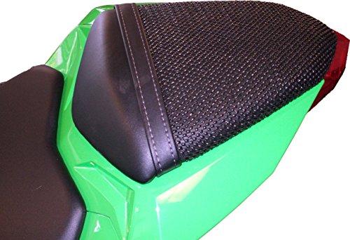 TRIBOSEAT Kawasaki Ninja 300 2013-2017 Anti Slip Motorcycle Passenger SEAT Cover Accessory Black