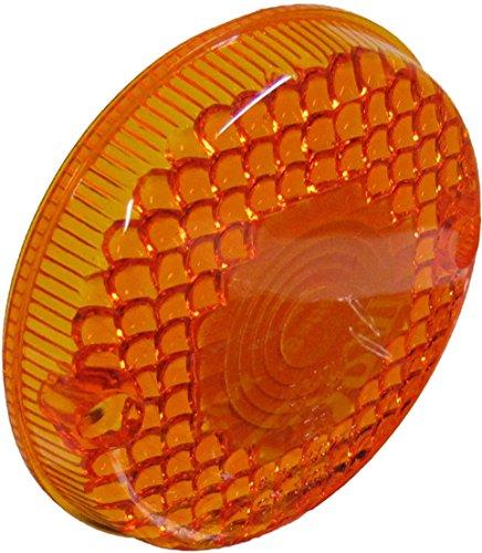 Kawasaki KL 250 Indicator Lens Front RH Amber 1978