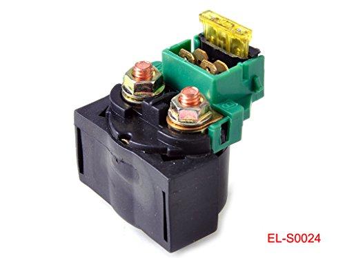 Solenoid Starter Relay for Kawasaki Eliminator 250 EL250 Bayou 220 250 KLF220 KLF220 KLX650C
