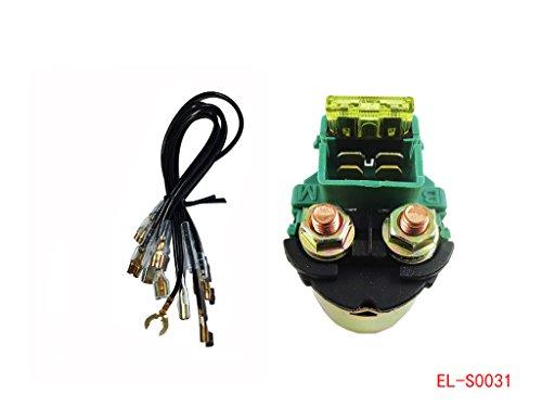 Starter Relay Solenoid for Kawasaki Eliminator 250 EL250 Bayou 220 250 KLF220 KLF220 KLX650C