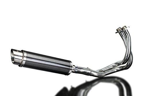 Kawasaki Z650 2017 Complete 2-1 Exhaust Dl10 14 Carbon Round Muffler