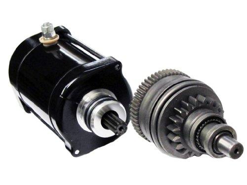 Caltric Starter and Drive Bendix Fits Kawasaki 800 JS800 SX-R 781cc Engine 2003-2011 Jetski