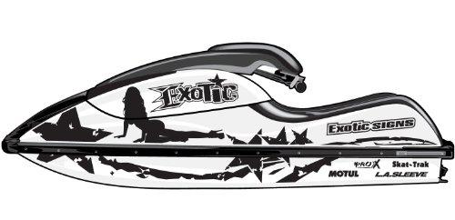 Kawasaki 800 SX-R Rockstar Econo Graphic Kit - EK0050K800