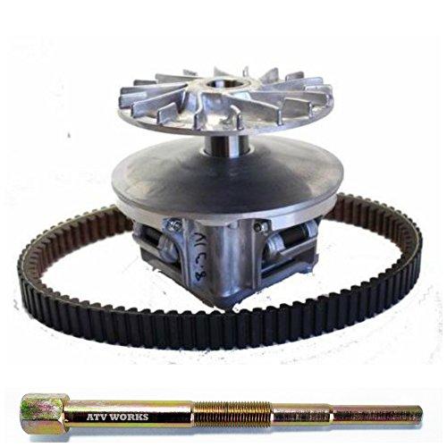 Kawasaki 600  610 Mule 2005-2015 Primary Clutch Drive Converter NEW OEM  49093-0021 w OEM Belt 59011-0011 Puller Tool