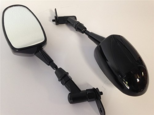 Mini Mirrors For Honda Cbr 600Rr Kawasaki Ninja 636 Zx6R Yamaha Yzf R6 R1 Black