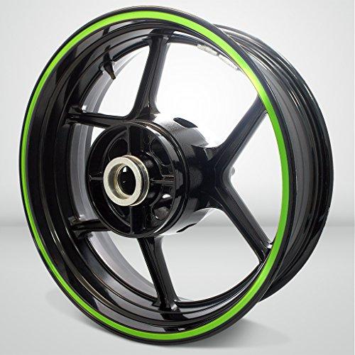 Thick Outer Rim Liner Stripe for Kawasaki Ninja 636 Gloss Light Green
