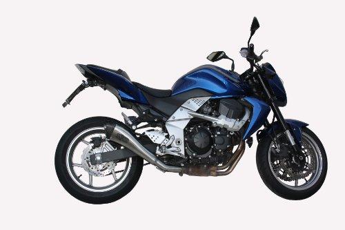 Kawasaki Z750 2007-2012 EXAN X-Black Evo Inox Exhaust Slipon Silencer Carbon Cap