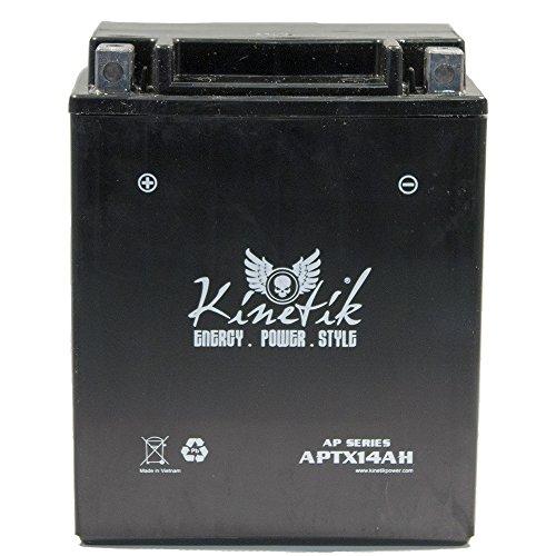 12V 12AH Battery for Kawasaki 360 KVF360 Prairie 2009-2012