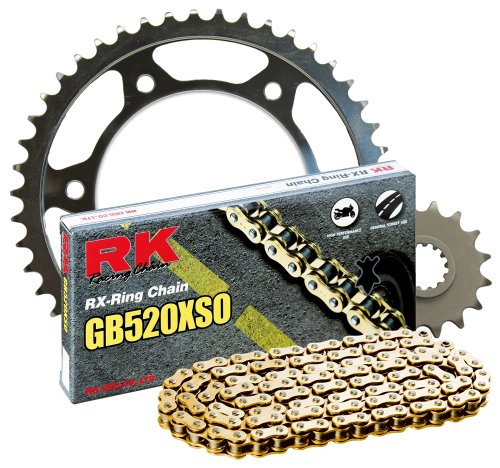 Rk Racing Chain 4067-039sg Steel Rear Sprocket And Gb520xso Chain 520 Steel Conversion Kit