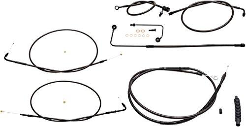 LA Choppers Midnight CableBrake Line Kit for Mini Ape Hangers