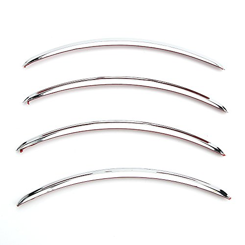 Rear Fender Accents Trim ABS Chrome For Harley Street Glides FLHX Road Glid