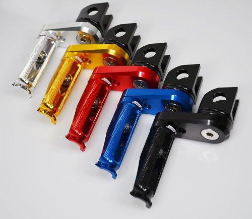Billet Aluminum Adjustable Footpegs Footrests Rearsets Kawasaki (03-13) Zx6r Rr