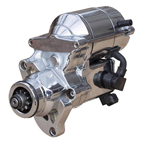 CHROME STARTER MOTOR FITS 07-09 HARLEY DAVIDSON DYNA SUPER GLIDE FXD EFI 31619-06A