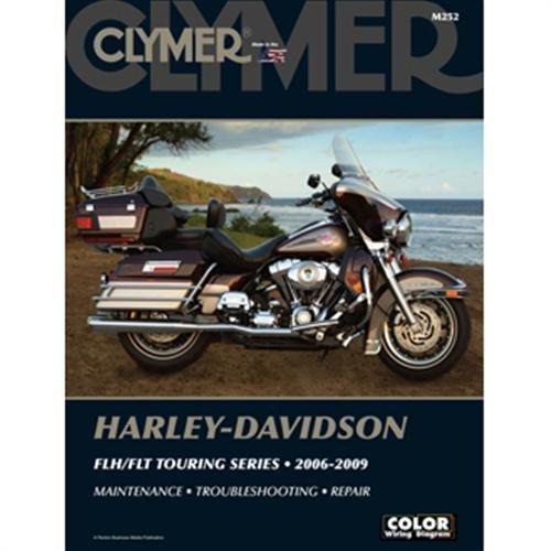 Clymer M252 Repair Manual for Harley-Davidson FLH Touring