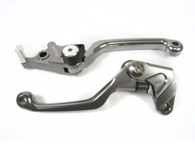 Black CNC PIVOT Brake Clutch Levers for Suzuki DRZ400S DRZ400SM 2000-11 03 04 05 06 07