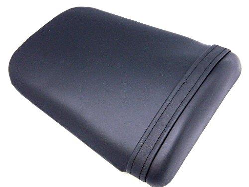 9sparts® Black Synthetic Leather Pillion Passenger Seat Foam Cowl For 2003 2004 2005 2006 Honda Cbr600rr Cbr 600rr