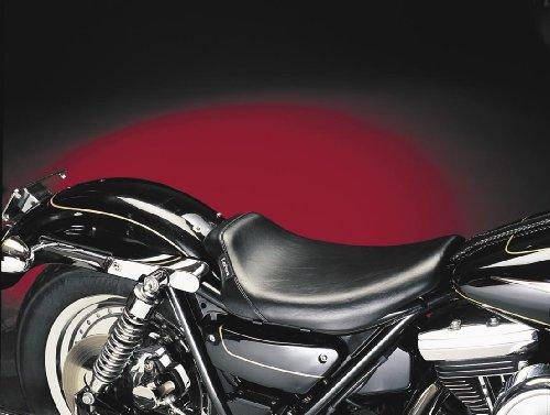 Le Pera Bare Bones Solo Seat Smooth Black for Harley FXR 1982-1983 1986-1994