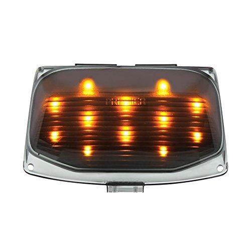 12 LED Harley Front Fender Tip Light - Amber LEDSmoke Lens