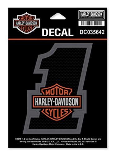 Harley-Davidson 1 Bar Shield Decal SM Size - 325 x 425 inches DC035642