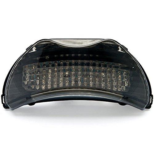 Krator Smoke LED Tail Light Integrated with Turn Signals For 2004-2006 Honda CBR 600 F4i  CBR600F4i