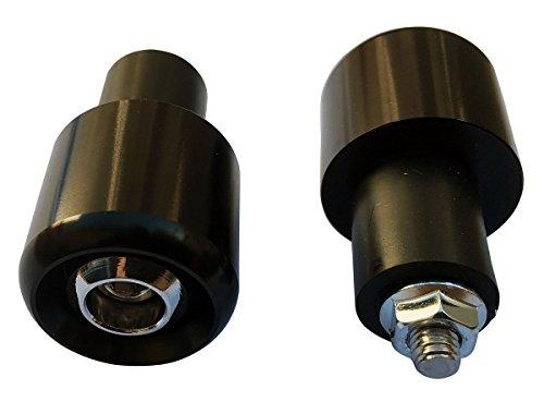 Black 78&quot 22mm Handle Bar End Weights Plugs Grips Cap Sliders For 2004 Suzuki Burgman 650