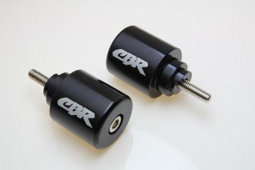 HONDA CB599 CBR600 F1 F2 F3 F4 F4i CBR600RR VFR800 CB919 900RR Black BAR ENDS