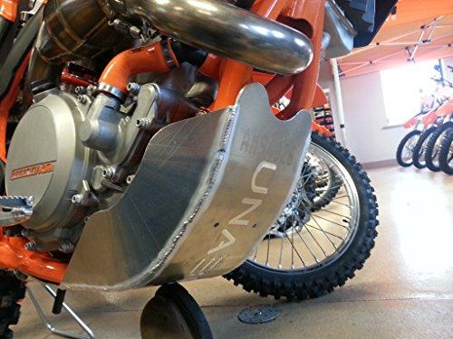 Unabiker KTM 11-15 250350 SX-F XC-F Skid Plates - Bare Aluminum