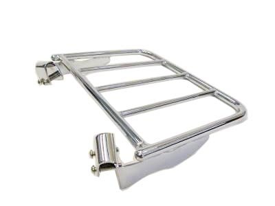 Detachable Luggage Rack for 09 Harley Davidson Touring Round Tubing Sissy Bars