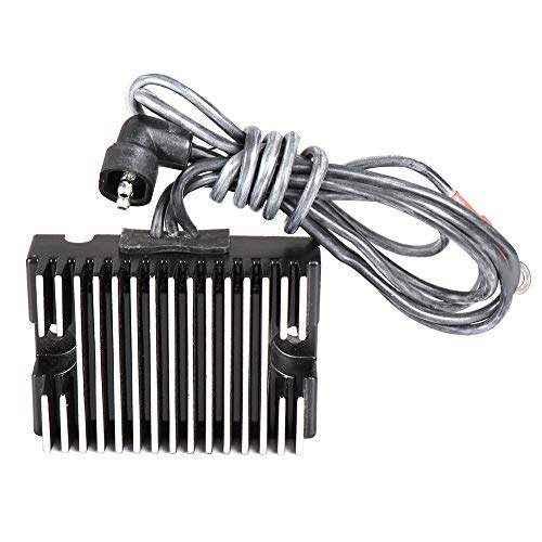 TUPARTS 74519-88A H1988 Voltage Regulator Rectifier Replacement Rectifier Fit for 1994-1996 2009-2014 Harley Davidson FLHR Road King 2009-2013 Harley Davidson FLHRC Road King Classic