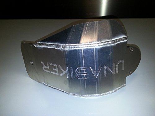 Unabiker yzsp10450-K Yamaha 10-13 YZ450F Skid Plate in Black