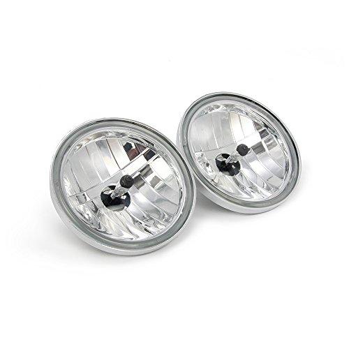 4 12 Diamond Cut Ice Auxiliary Passing Lamp Driving Spot Fog Lights - Harley