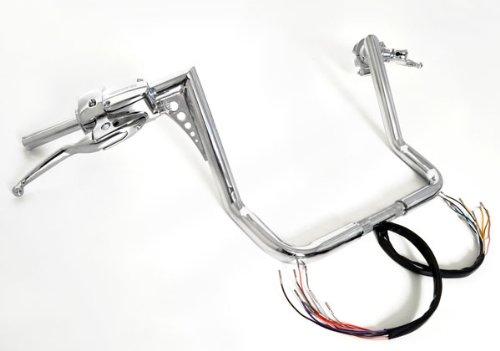 14 Rise Ape HangersEl Diablo 1-14 Hand Controls Harley Dressers Baggers 1996-2012