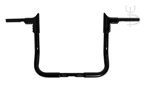 DEMONS CYCLE Demons Horns Black 12 Modular Ape Hangers 1-14 Handlebars for Harley Dressers Baggers FLHT FLHTC