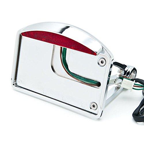 Krator Side Mount License Plate LED Tail Brake Light For Harley Davidson XL Sportster 1200 Custom