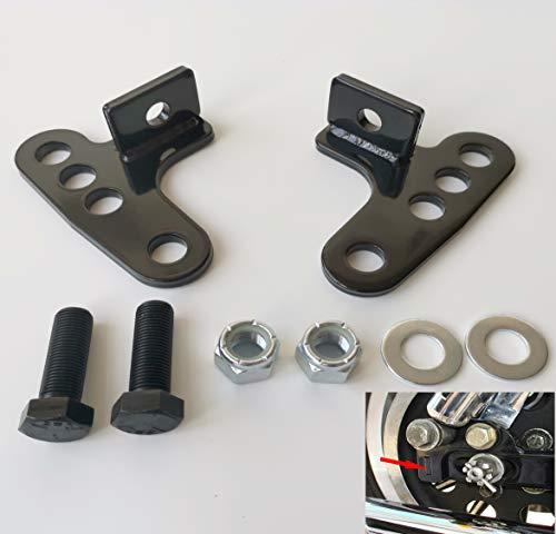 TOPMOUNT 1Pair Adjustable 1-3 Lowering Kit for Harley-Davidson Sportster 883 XL883L Custom Sportster 1200 XLH1200