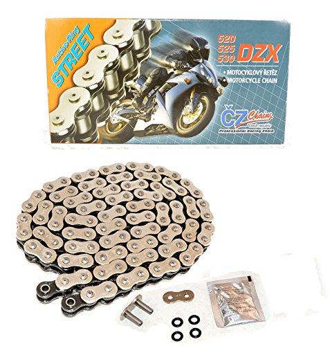 Honda 2000-2001 03-2007 CR125R  2010-2014 CRF250R CZ 520 DZX X Ring Chain 120