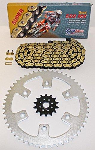Honda 2004-2007 CR125 2004-2014 CRF250R CZ Gold MX Chain Sprocket 1350 120L