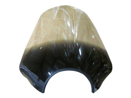 Memphis Shades MEP5721 Gradient Black Sport shield Big Shot with 9 Headlight Cutout