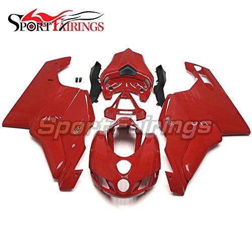 Sportfairings Red Fairing Kits For Ducati 999 749 Monoposto Year 2005 2006 Motorcycle Injection ABS Plastic Fairings Frames