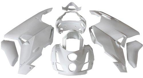 ZXMOTO Motorcycle Bodywork Fairing Kit for Ducati 999  749 2003 2004 Unpainted ABS Plastic Pieceskit18