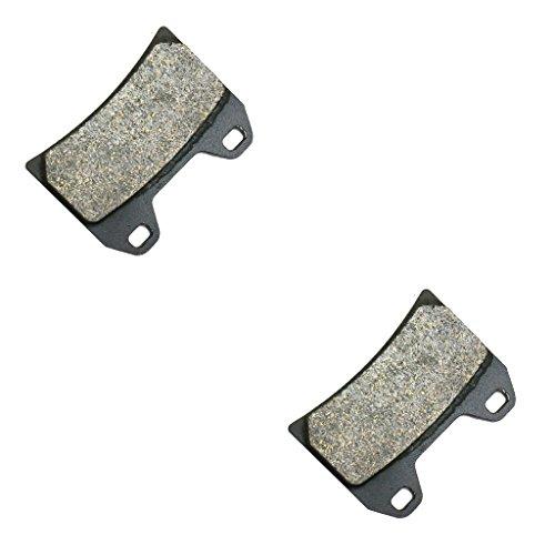 CNBK Front Left Brake Shoe Pads Semi Met fit for DUCATI Street Bike 1000 Multistrada Dark S DS 05 06 07 08 09 10 11 12 13 14 15 2005 2006 2007 2008 2009 2010 2011 2012 2013 2014 2015 1 Pair2 Pads