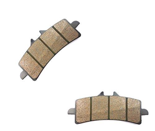 CNBK Front Left Disc Brake Pads Semi Met fit for DUCATI Street Bike 990 Supermoto R SM-R 10 11 12 13 14 15 2010 2011 2012 2013 2014 2015 1 Pair2 Pads