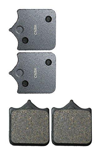 CNBK Front Left Disc Brake Pads Semi-met for DUCATI Street Bike 998 R 02 02 2002 2 Pair4 Pads