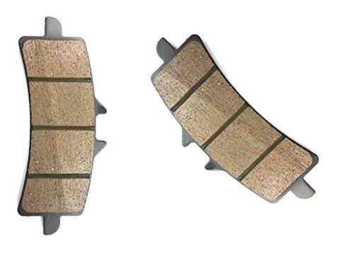 CNBK Front Right Brake Shoe Pads Semi Met fit DUCATI Street Bike 1100 S Hypermotard 08 09 2008 2009 1 Pair2 Pads