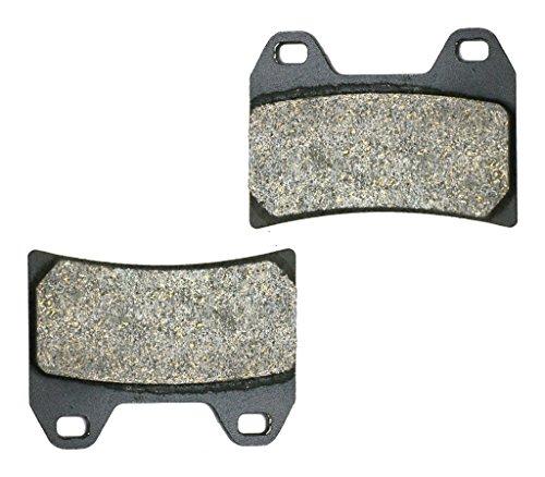 CNBK Front Right Brake Shoe Pads Semi Met for DUCATI Street Bike 944 ST2 S1 H965 00 01 02 03 2000 2001 2002 2003 1 Pair2 Pads